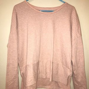 pink abercrombie and fitch sweater